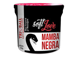Soft Ball Triball Mamba Negra - c/ 3